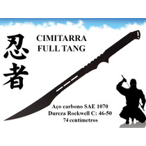 Cimitarra Sabre Full Tang Espada De Combate Katana