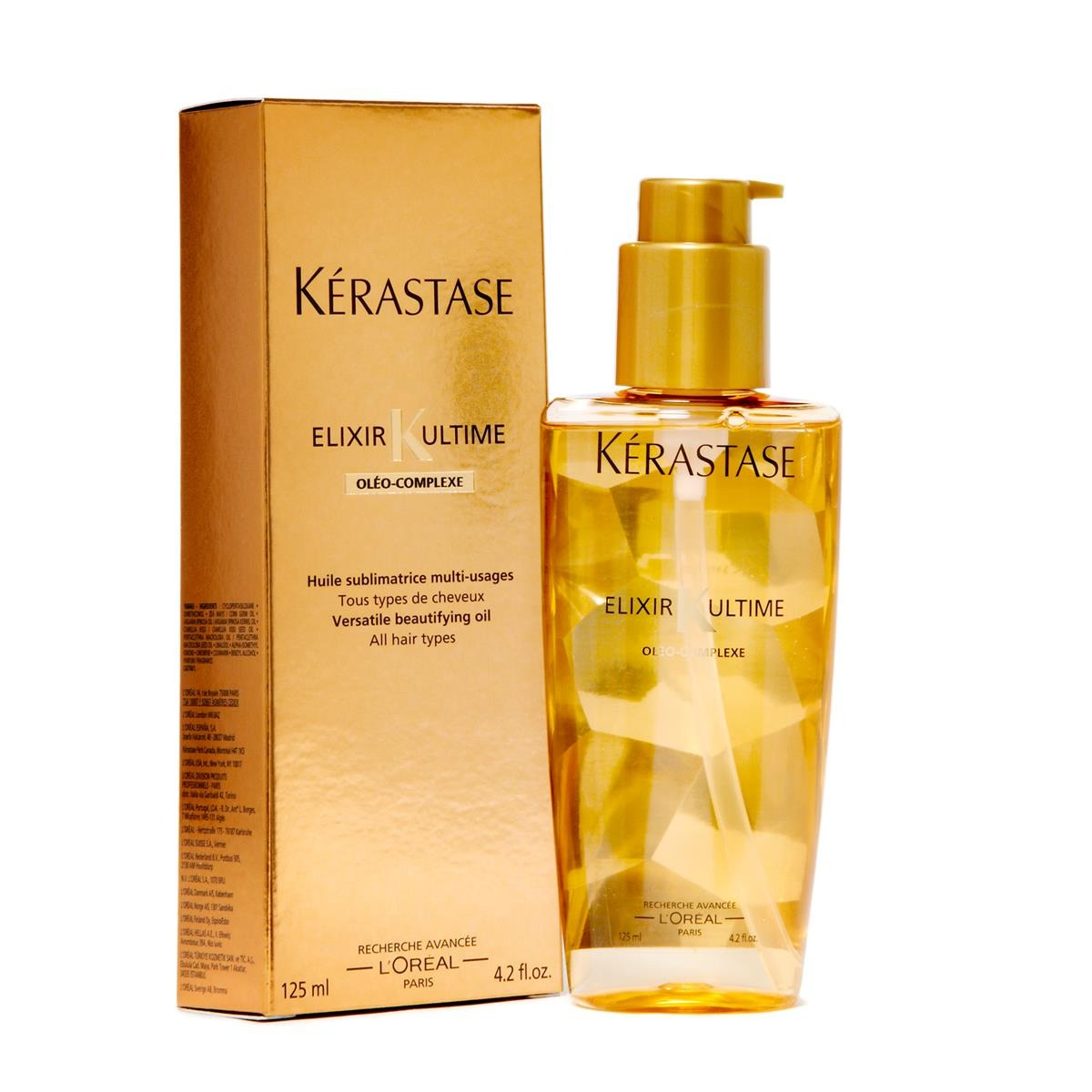 kerastase elixir ultime nutritive oleo complexe 125ml novo r 248 98 no mercadolivre. Black Bedroom Furniture Sets. Home Design Ideas