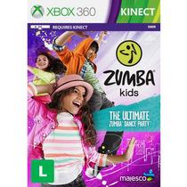Jogo Novo Lacrado Ntsc Zumba Kids Para Xbox 360 Kinect