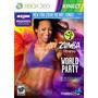 Zumba Fitness World Party Xbox 360 Kinect Frete Único Brasil
