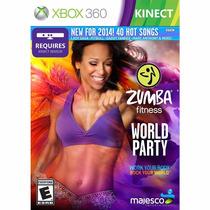 Zumba Fitness World Party Para Kinect Xbox 360 Lacrado