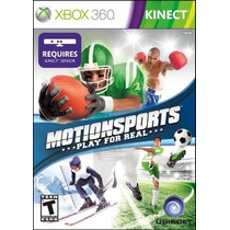 Xbox 360 Kinect Motion Sports Play For Real Original-lacrado