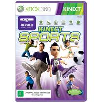 Jogo Kinect Sports Xbox 360 Portugues Lacrado Frete Gratis