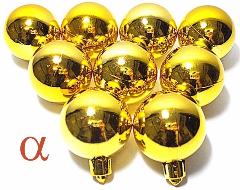 decoracao arvore de natal vermelha e dourada:Kit 300pç Enfeite De Natal P/árvore Vermelha E Dourada Alfa. – R$