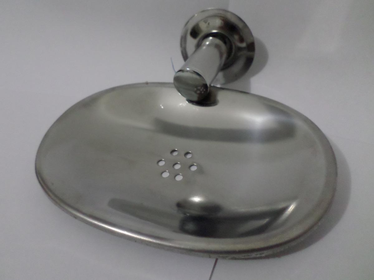 Kit Acessorios Banheiro Inox 5 Peças R$ 54 90 no MercadoLivre #6A6961 1200x900 Acessórios Banheiros Inox