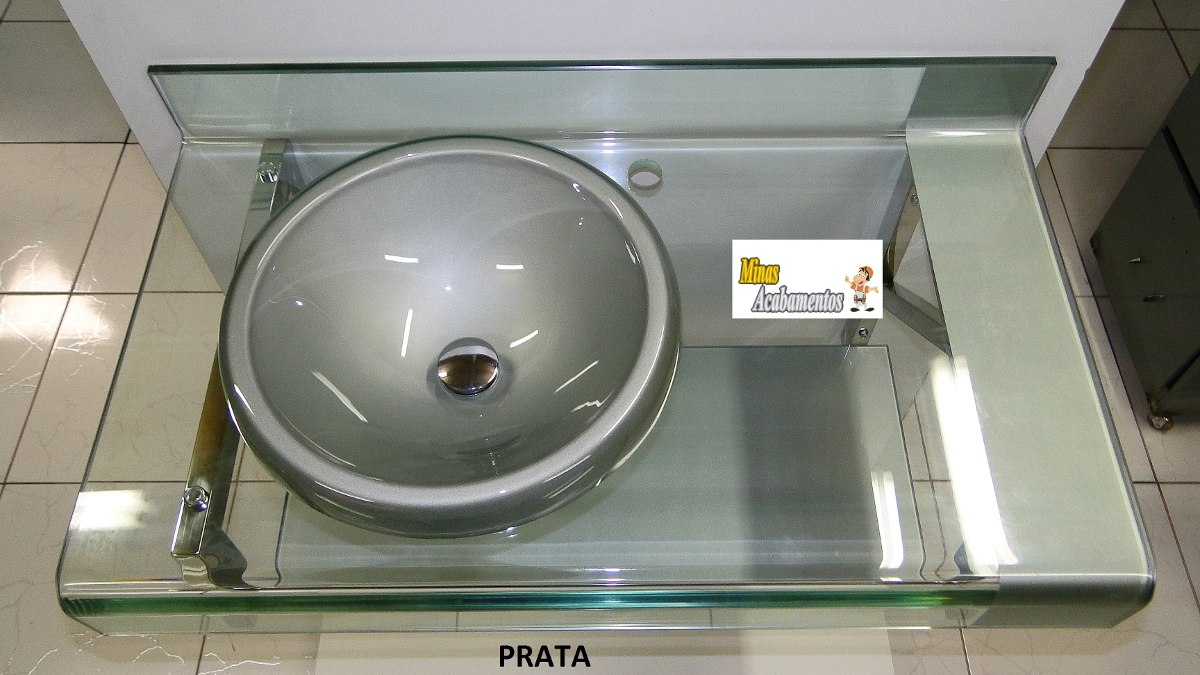 Kit De Vidro Gabinete Pia Banheiro Astra Estilo Chopin Pictures to pin on Pin -> Gabinete De Banheiro Astra