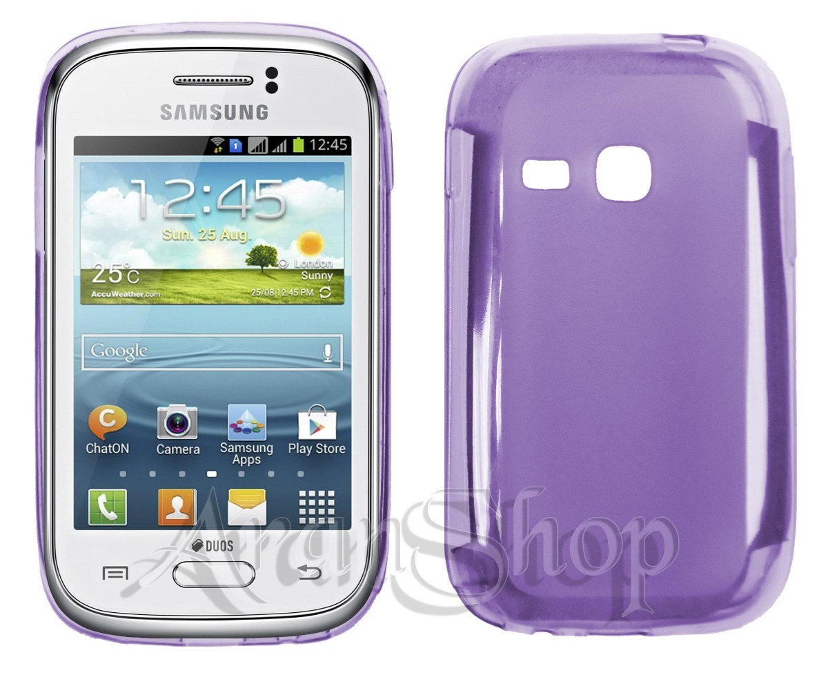 Kit Capa Tpu Samsung Galaxy Young Duos Tv S6313+ Película! - R$ 12,99