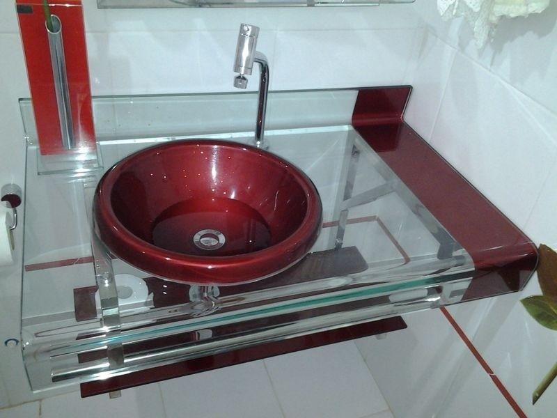 Kit Gabinete pia Bancada Banheiro Astra Estilo Chopin 90cm  R$ 999,00 no M -> Kit Para Pia De Banheiro