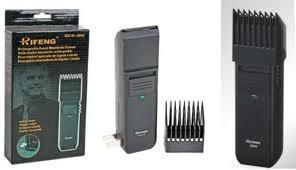 Kit Máquina Aparar Barba E Cabelo + Aparador De Pêlos Nariz