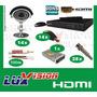 Kit Segurança Dvr Stand Alone 16 Canais Luxvision 14 Cameras