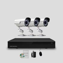 Kit Segurança Cftv Dvr Stand Alone 4 Canais, 3 Câmeras Infra