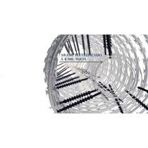 Concertina Dupla Clipada Em Aço Galvalume (eletrificada)