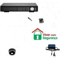 Kit Dvr Cftv Stand Alone Luxvision +1 Câmera+1 Cx+fonte+cabo