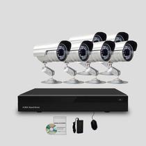 Kit Segurança Cftv Dvr Stand Alone 8 Canais, 6 Câmeras Infra