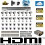 Kit Cftv 32 Cameras Sony, Dvr32 Canais Gs32hvr, Fonte/conec