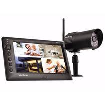 Kit Monitoramento Intelbras Ehm608 S/ Fio Tela Lcd +1 Câmera