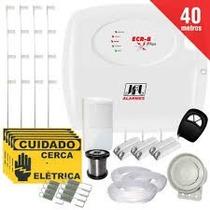 Kit Cerca Elétrica Com Alarme Com Fio Jfl + 4 Sensores
