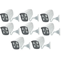 Kit 10 Câmera Segurança Infra 1500l Filtro Ir Cut Blc 60 Mts