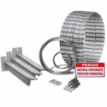 Kit Concertina Protetor Cerca Ouriço 10m 350mm