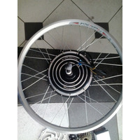 Kit Bike Elétrica 1000w 48v 10ah + Quadro + Case + Baterias