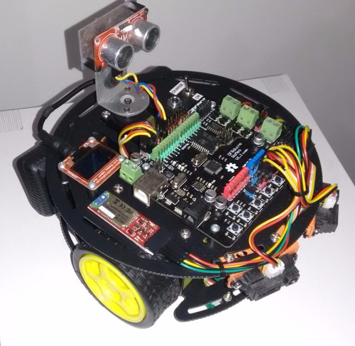 Kit robo completo com arduino r  no mercadolivre