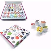 Kit Luxo Gel Uv Colorido Unhas Acrygel 36 Cores Lidan