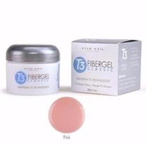 10 Potes De Gel T3 Pink Star Nail
