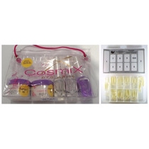 Cosmix Mini Kit De Acrygel + Magic Nails Tip Natural Sorriso
