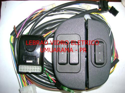 Kit Vidro Eletrico Corcel 2 E Belina 2, Pampa Sensorizado