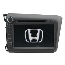 Central Kit Multimidia Dvd Honda Civic (12-14) C/ Tv Digital