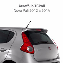 Aerofólio Novo Fiat Palio G5 2012 A 2014 Tgpoli 04.214 Preto