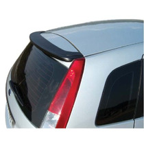 Spoiler Sem Break Light Ford Fiesta Hatch 02/14 Tgpoli Preto
