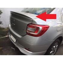 Aerofólio Para Renault Logan Acessorio Nao Cromado !!!