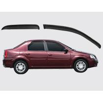 Renault Logan - Jogo De Calha Chuva Defletor Tg Poli 29005