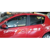 Renault Novo Sandero Jogo Calha Chuva Defletor Tg Poli 29009