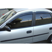 Defletor De Chuva Corsa Hatch/sedan/classic 94/13 Tgpoli