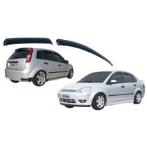 Defletor Calha Chuva Tg Poli Fiesta Hatch Sedan 4 Portas