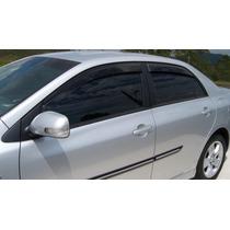 Defletor Calha Chuva Tg Poli Corolla 2008 A 2012 4 Portas