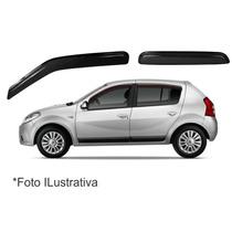 Jogo Calha Defletor Chuva Renault Sandero 4p Todos Original