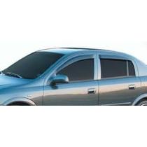 Calha De Chuva Astra Hatch Ou Sedan 4 Portas 100% Acrílico