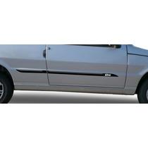 Fiat Uno 85/13 2p Jogo Friso Lateral Personalizado Tg Poli