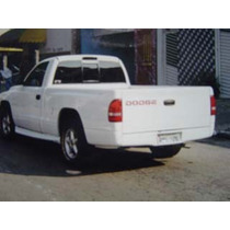 Para Choque Dodge Dakota 98/06 Traseiro Embutido Em Fibra