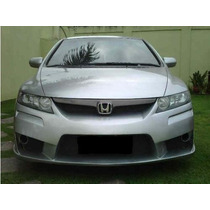 Parachoque Tuning Personalizado Para Honda New Civic.