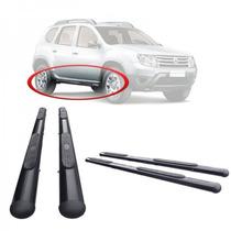 Estribo Renault Duster Preto / Cromado
