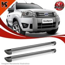Estribo Lateral Alumínio Bepo P/ Ford Ecosport C/kit Fixação