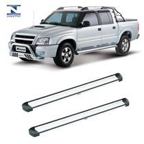 Estribo Lateral Elegance Alumínio S10 Cabine Dupla Até 2011