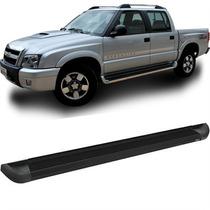 Estribo Plataforma Alumínio Preto S-10 Até 2012 Bepo