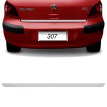 Friso Tampa Porta Malas Peugeot 307 02 A 10 11 2012 Cromado
