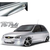 Spoiler Lateral Preto Corsa Wind Wagon Super 94 A 10 C/ Tela