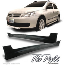 Spoiler Lateral Gol E Voyage G5 G6 Tgpoli Mod. Off Road